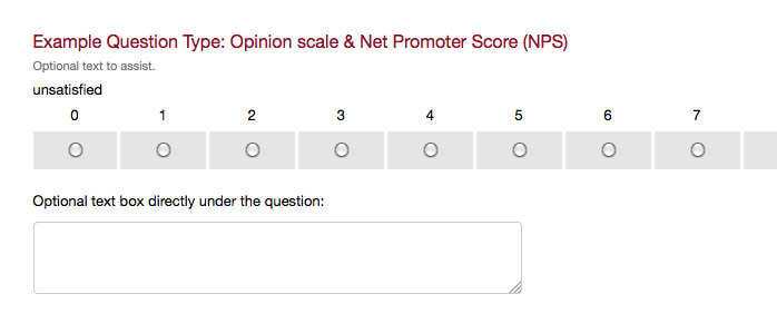 survey question type opinion scale