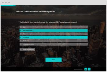 Umfrage-Vorlage: Produkteinführung und Prototypen test