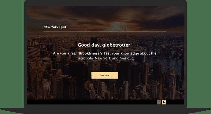 City Quiz Template