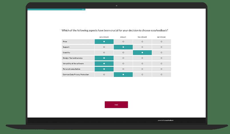 Product Optimization Survey Template