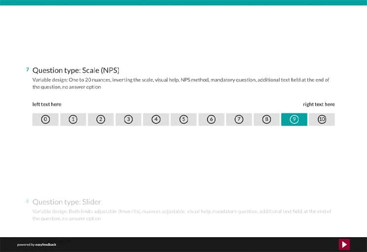 Question Type: Likert-Scale and NPS