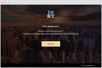 Quiz Template: City Quiz