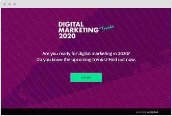 Quiz Template: Digital Marketing Trends
