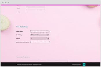 Survey Template: Order Form