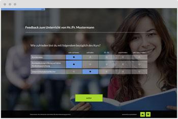 Survey Template: Teacher Evaluation