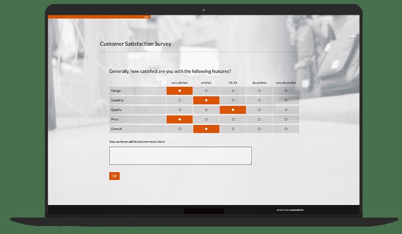 Customer Satisfaction Measurement Survey Template