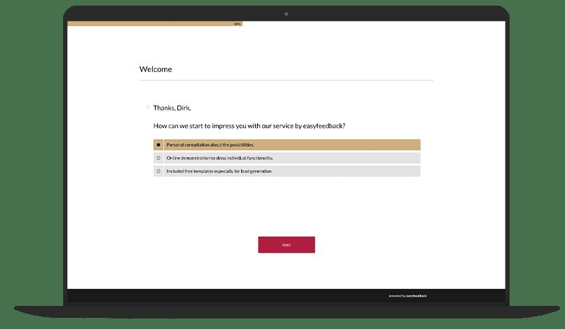 Lead Generation Form Survey Template