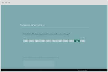 Survey Template NPS